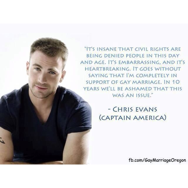 Chris Evans (Captain America!)