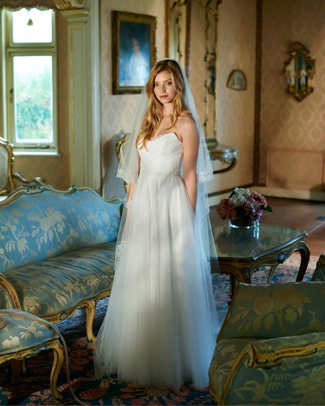 Elbeth Gillis Olivia D0214 Available At The Attic Bridalwear Boutique Limerick Http Www Theatticbr Simple Bridal Gowns Bridal Gowns Vintage Wedding Dresses