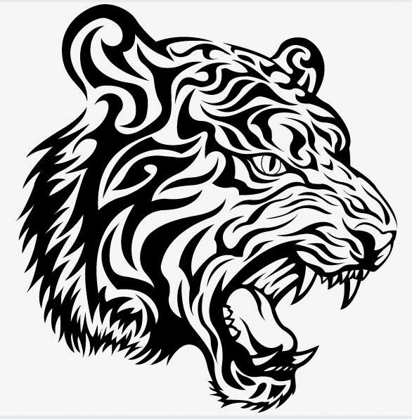 Tiger Tiger Totem Tattoo Png Transparent Clipart Image And Psd File For Free Download Tiger Tattoo Design Tribal Tiger Tattoo Tribal Tiger