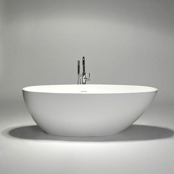 The delicate blustone oval freestanding bathtub   Bathtubs ...