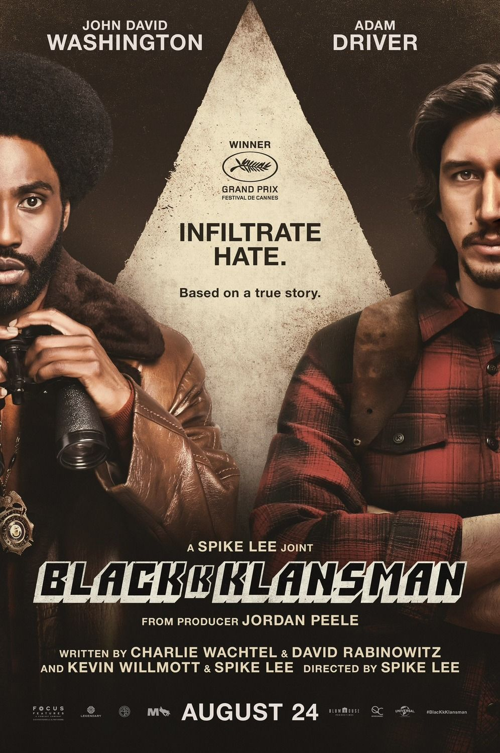 Return To The Main Poster Page For Blackkklansman 2 Of 2 Film Les Infiltres Film Streaming
