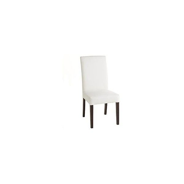 Awesome Pier 1 Imports White Dana Parsons Dining Chair Frame (120 CAD) ❤ Liked On