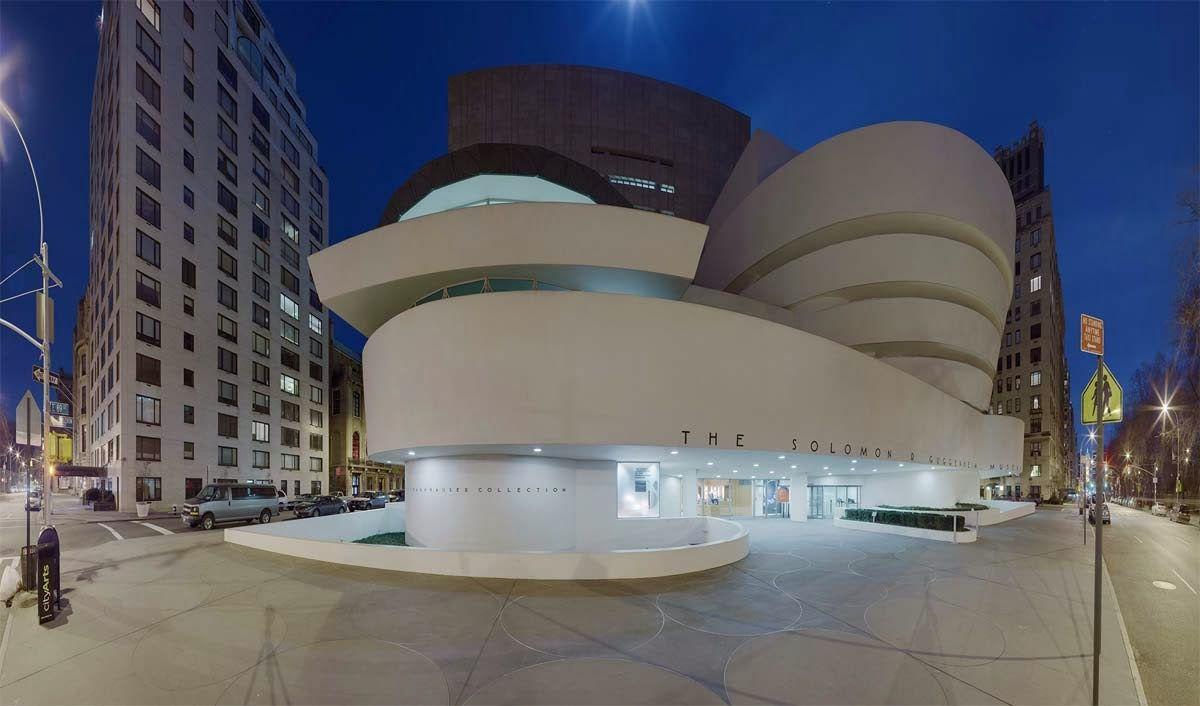 poco claro Continente preferir  Frank Lloyd Wright y el Museo Guggenheim de Nueva York   James turrell,  Museo, Architettura