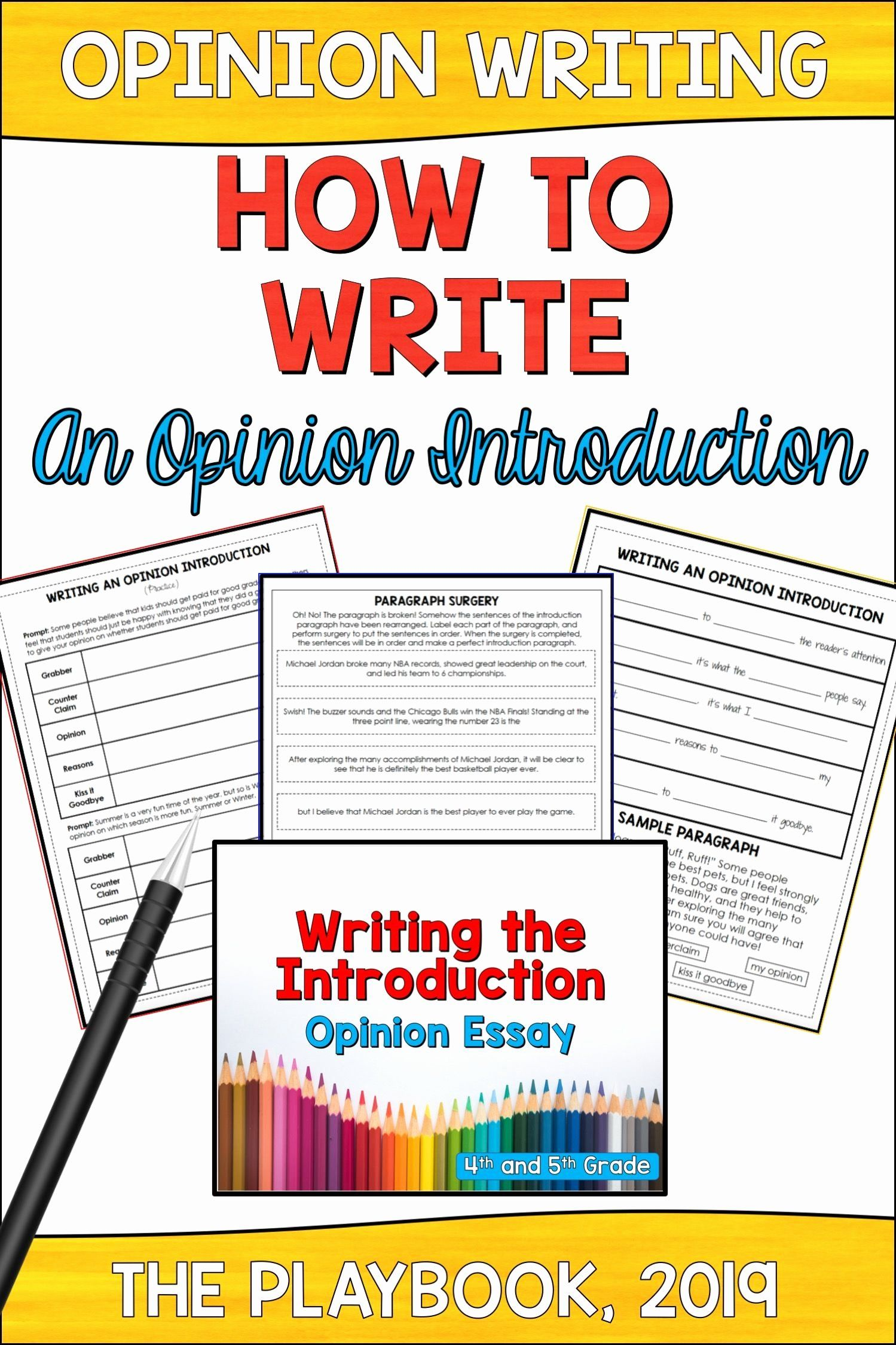 Azmerit Practice Worksheets Math Inspirational How To Write An Opinion Introduction Practices Worksheets Writing Introductions Opinion Writing Introduction