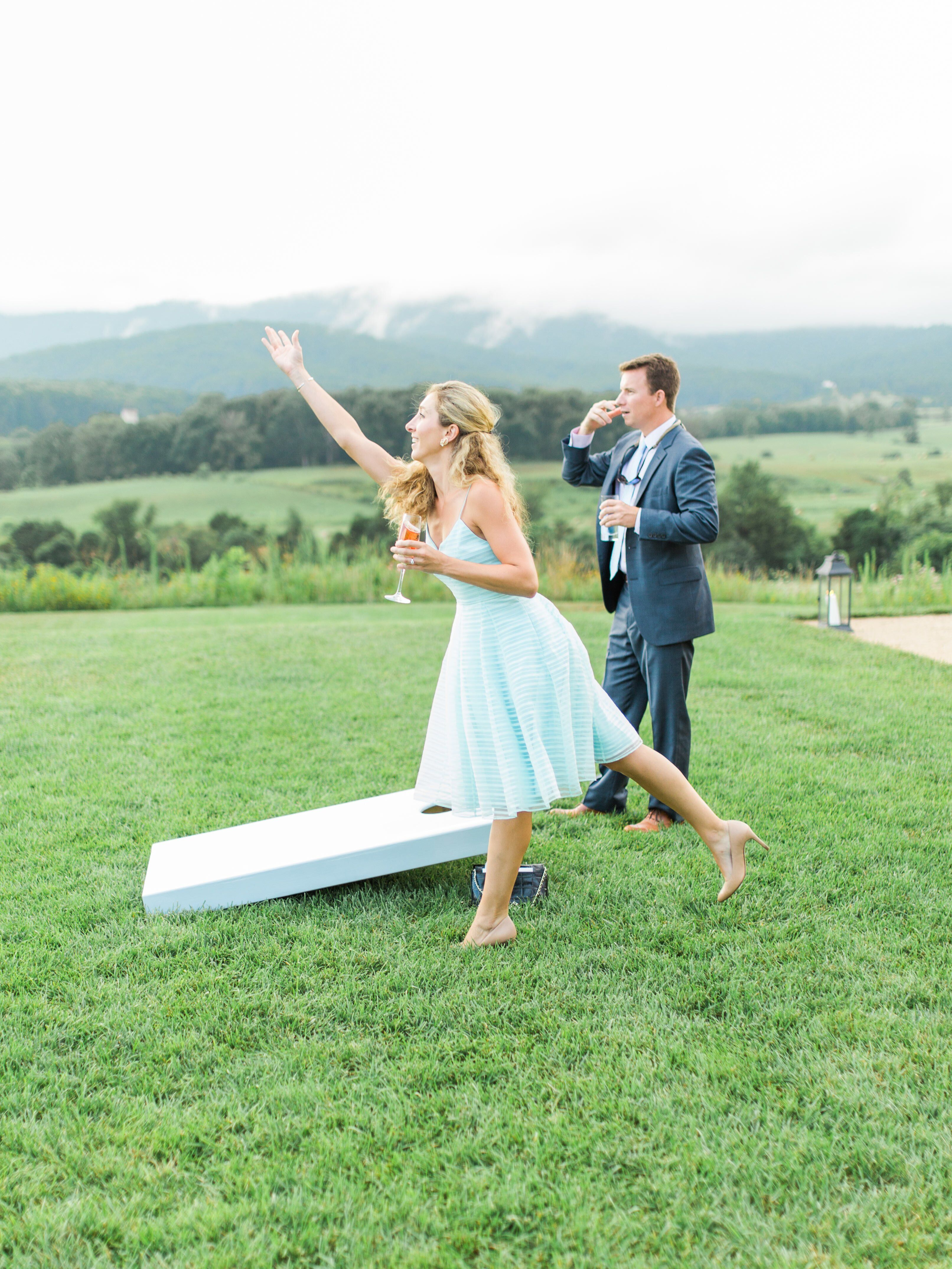 How to Throw the Perfect Backyard Engagement Party