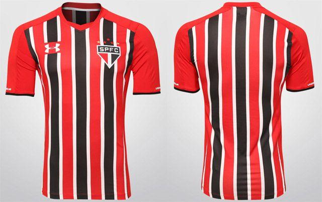 Además Dictadura paquete  Camisas do São Paulo 2015-2016 Under Armour » Mantos do Futebol | Camisa do são  paulo, Futebol, Under armour