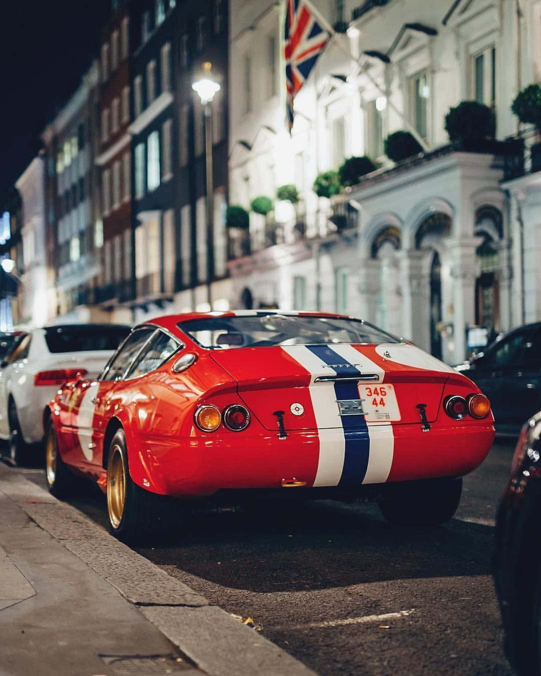 Ever street park a few million dollars? Ferrari Daytona
