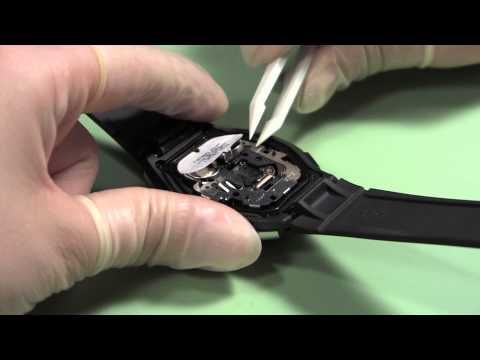 How To Change A Watch Battery Watch And Learn 43 Youtube