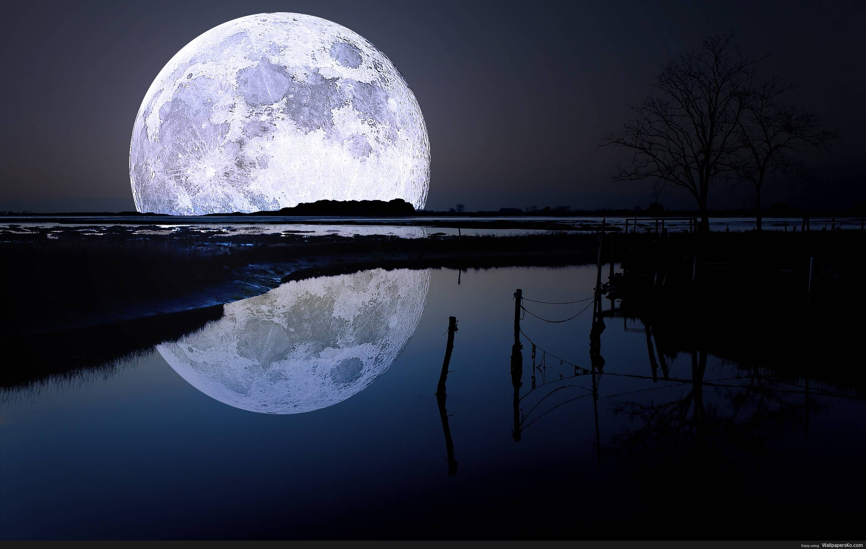 Moon Wallpaper Hd 1920x1080 Http Wallpapersko Com Moon Wallpaper