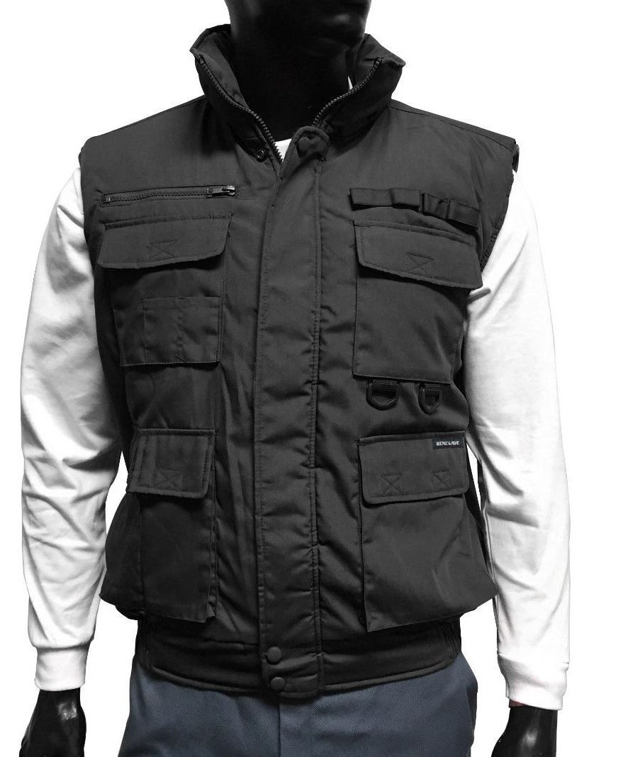 137baebfa Men's Renegade Sportwear Padded Multi-Pocket Vest | Men's Jacket ...