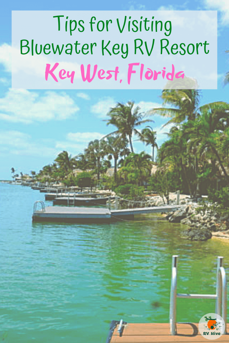 Staying In An Rv In Key West At The Bluewater Key Rv Resort Key West Resorts Rv Parks In Florida Key West Camping