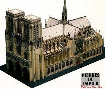 Detailed Architectural Paper Model (A5) | paper - Monuments