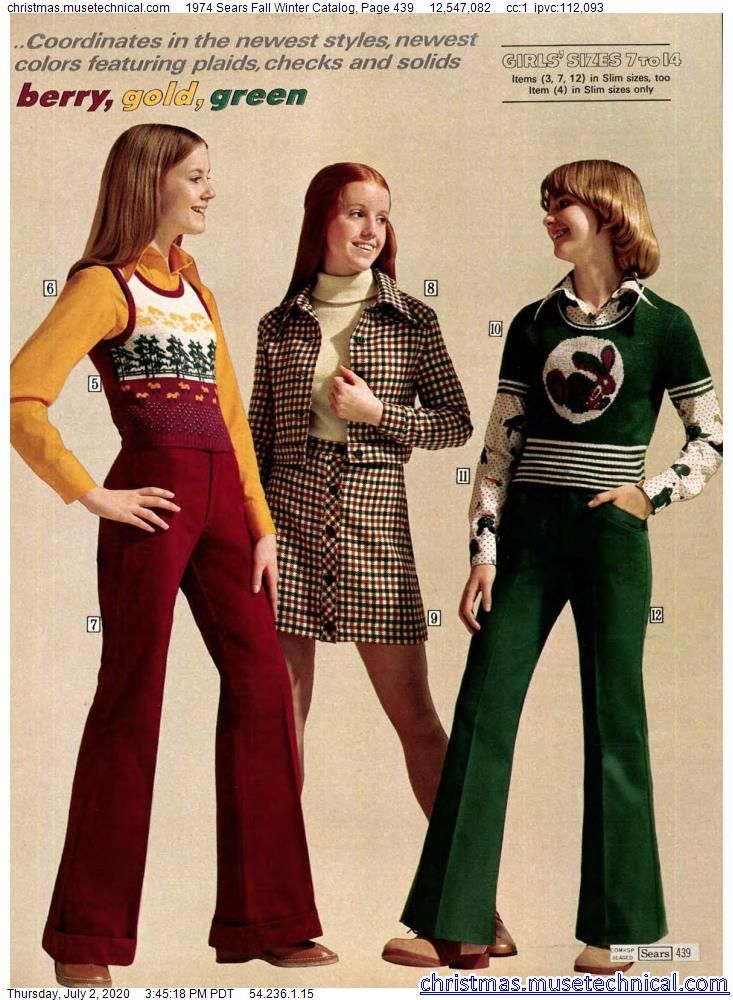 1974 Sears Fall Winter Catalog, Page 439 - Christm