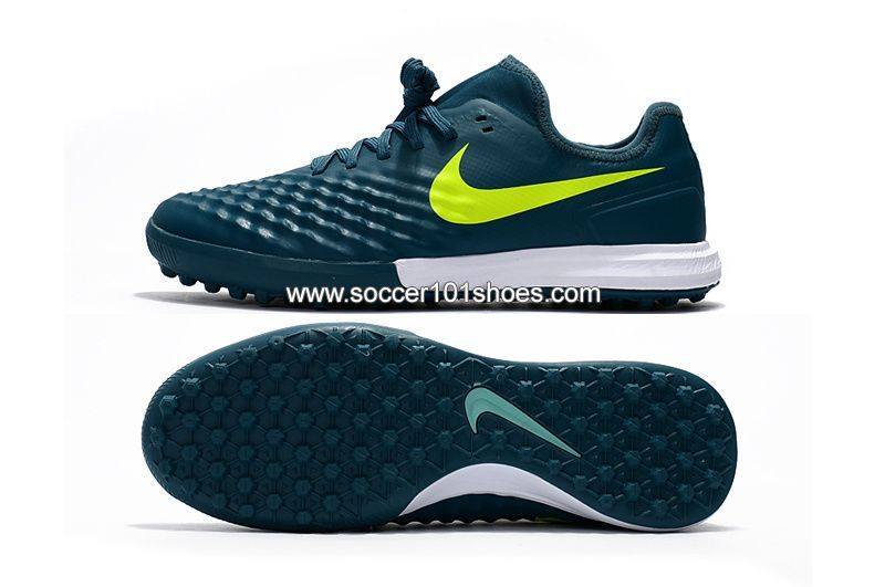 buy online 172b9 6ba73 Nike Mens MagistaX Finale II TF Soccer Football Shoes Dark Green  74.00