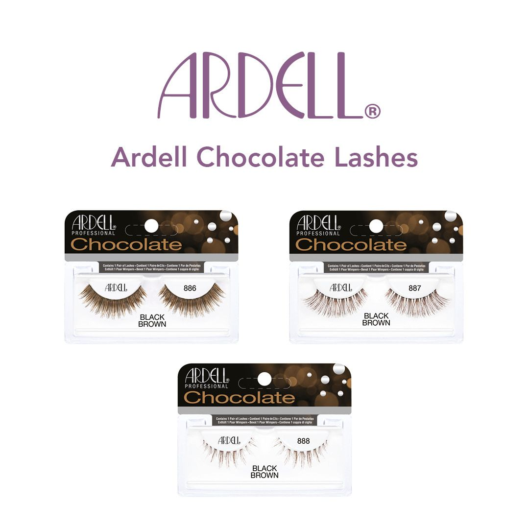 096bc5a423a Ardell Chocolate Lashes at Louella Belle #Ardell #ChocolateLashes #Lashes  #LouellaBelle
