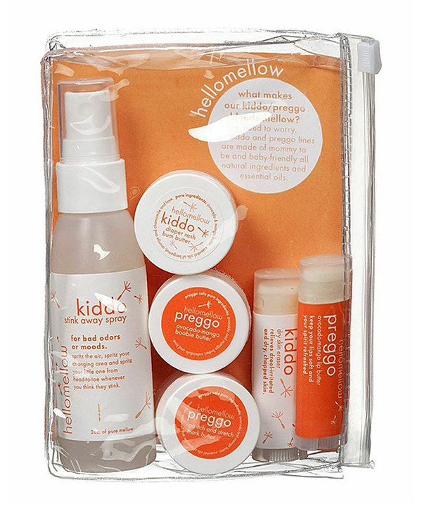 Look at this Preggo & Kiddo on the Go Set on #zulily today!