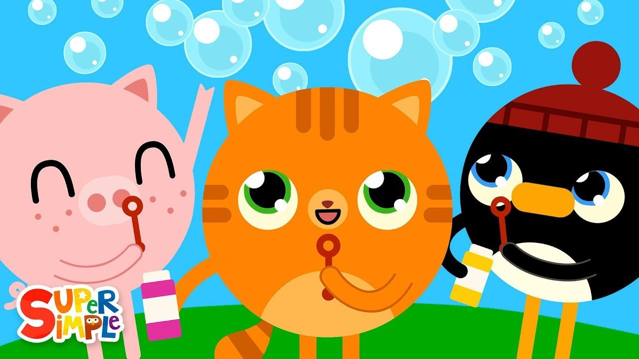 Pop The Bubbles Kids Songs Super Simple Songs Youtube In 2020 Super Simple Songs Kids Songs Songs For Toddlers