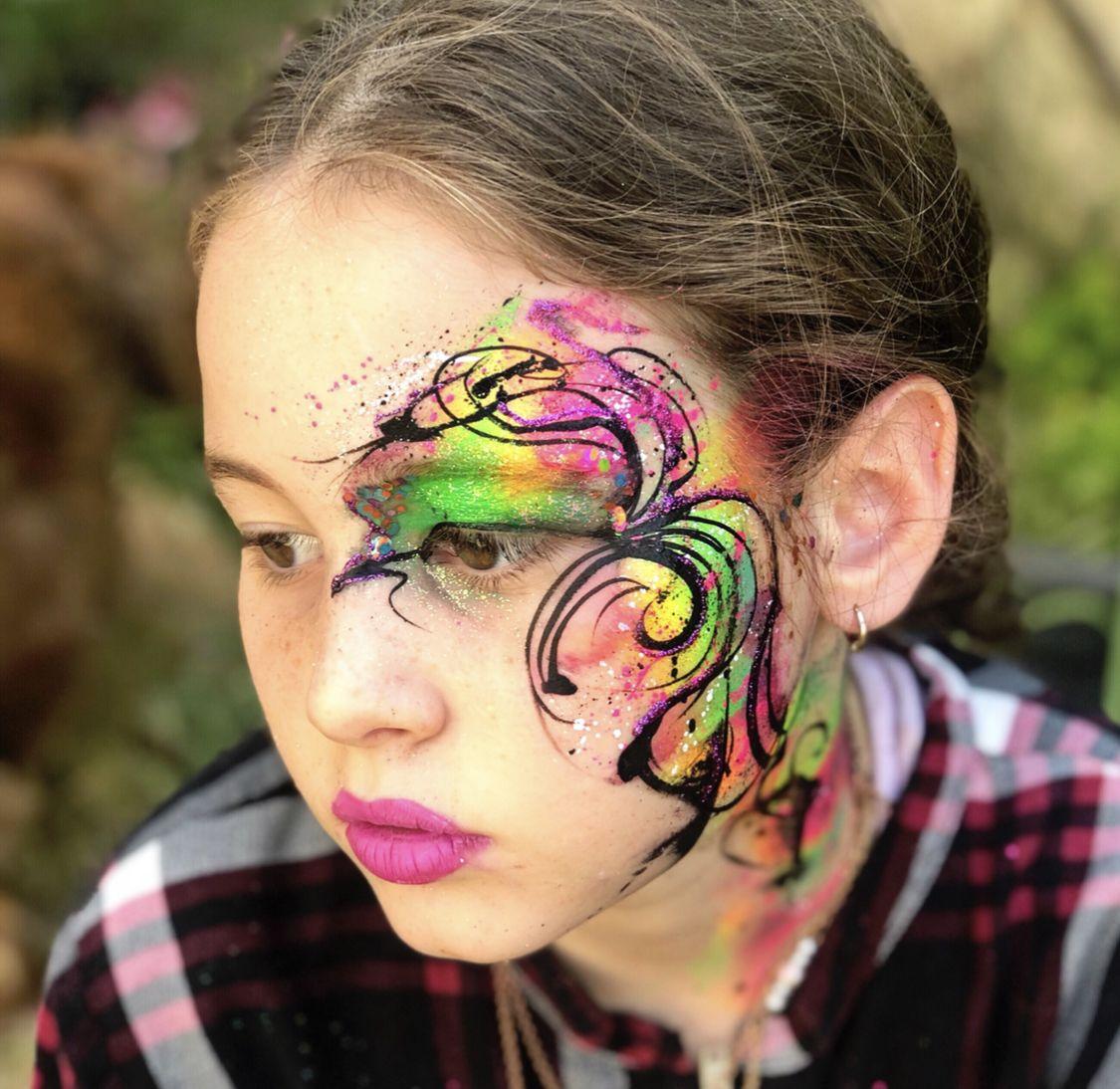 Henna By Leyla Shemesh: Graffiti Styles, Carnival Face Paint