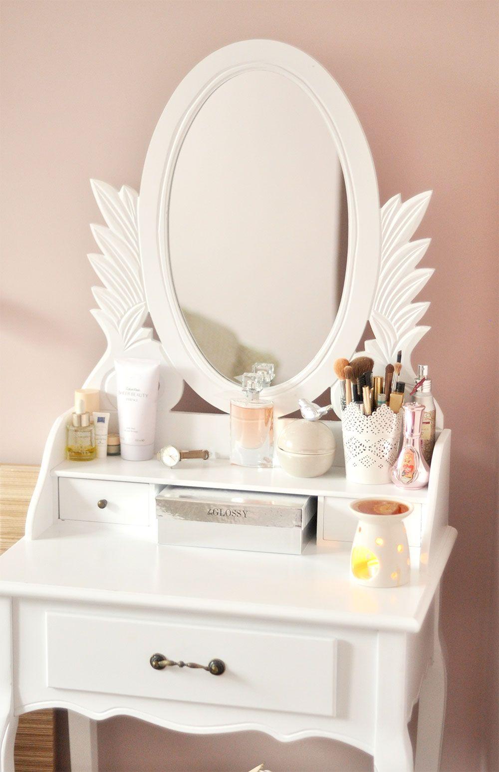 Toaletka home in pinterest room vanity desk and comforters