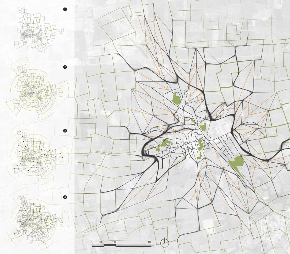 Site Map Diagram: AA School Of Architecture 2013 - Landscape Urbanism - The Rural Nexus