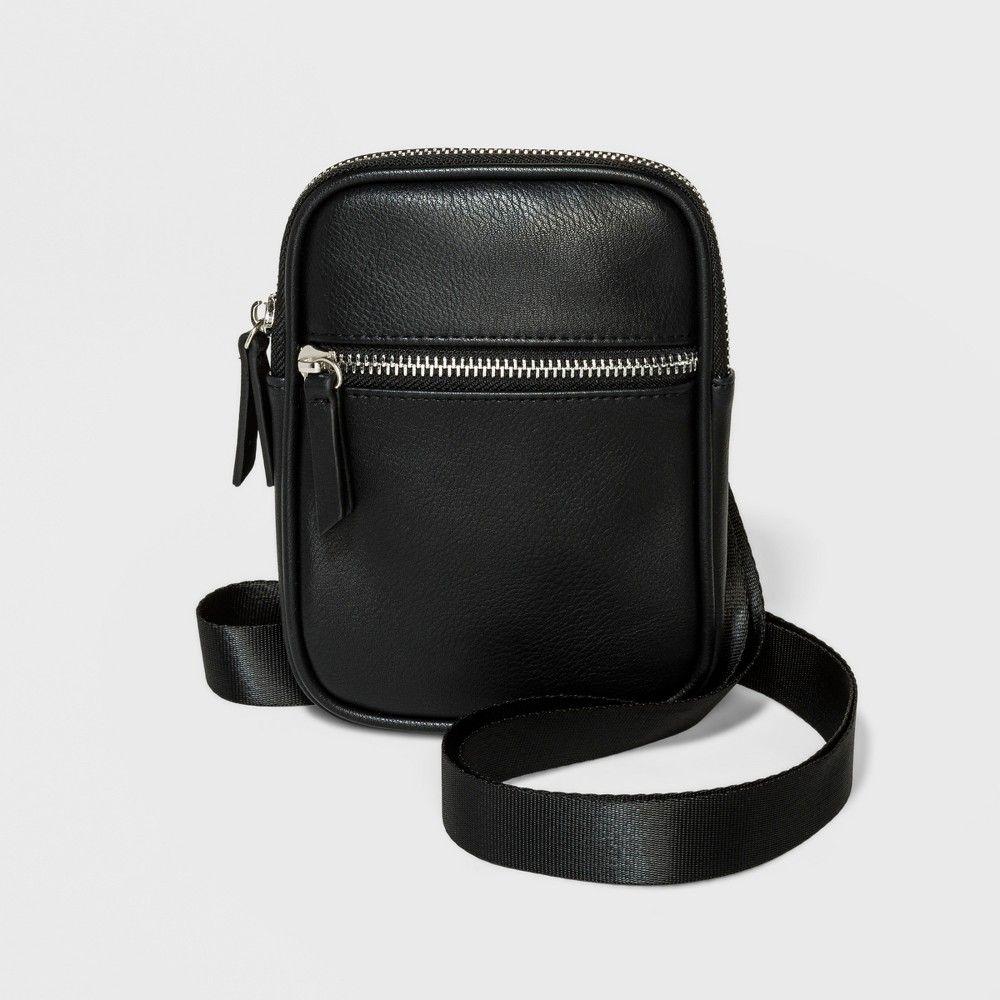 de8110858360 Cell Phone Crossbody Bag - Wild Fable Black