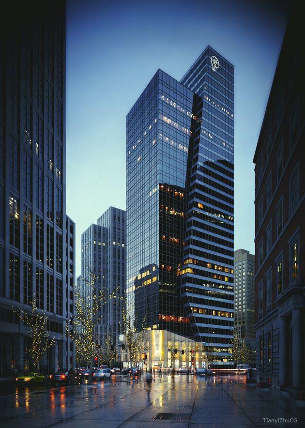 Pin von janine schw auf vertikale stadt architektur visualisierung futuristische architektur - Futuristische architektur ...