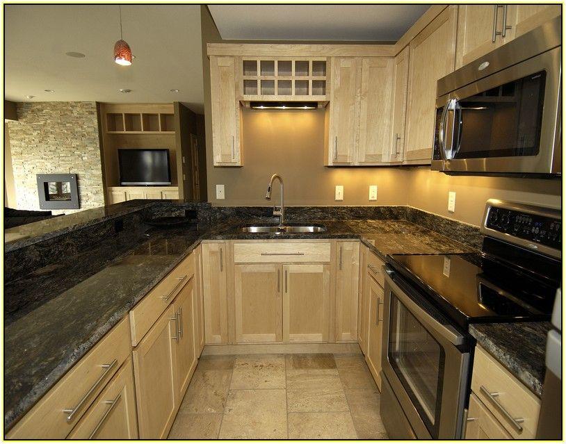 Dark Green Granite Countertops Kitchen Makeover Green Kitchen