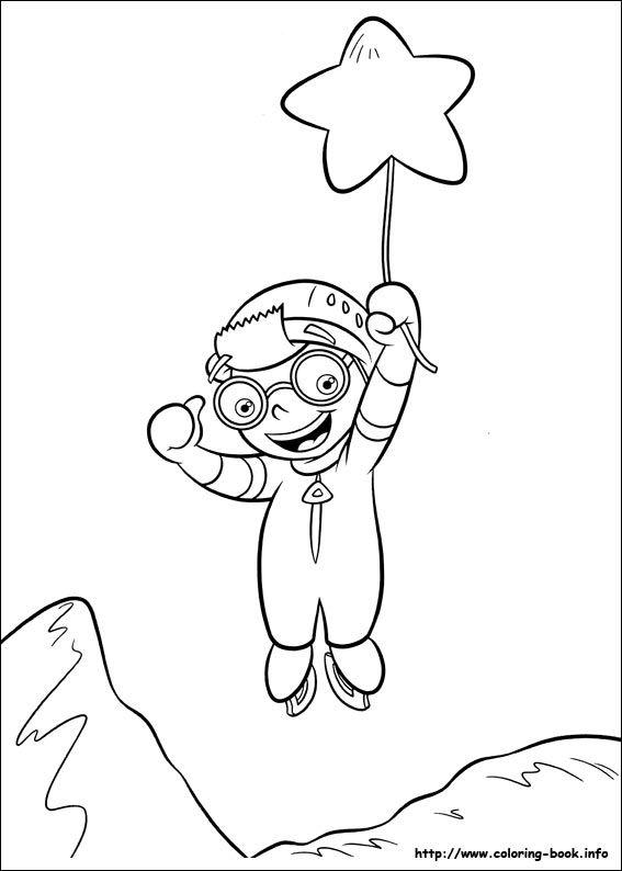 Little Einsteins coloring picture | JC3 HBDP: Little Einsteins ...