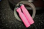Tickle Me Pink - Custom Rx jump rope... waaaant! Thinking pink handles with green or blue cables, or vice versa. Someday Ill treat myself!