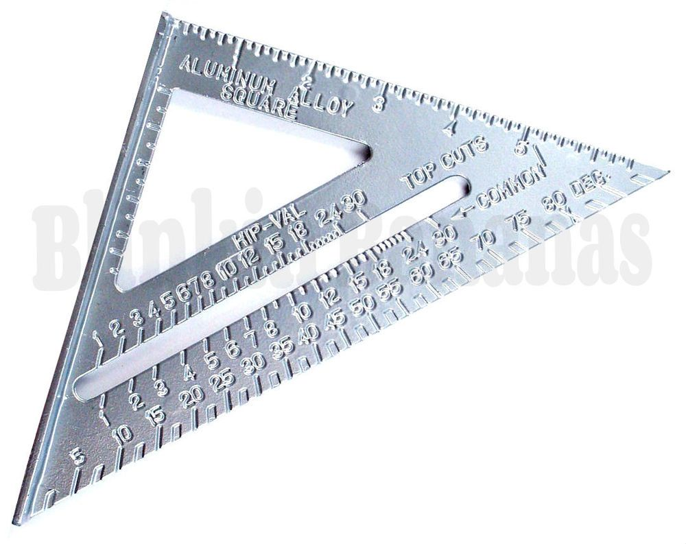 Details about 7 roofing speed square aluminium alloy