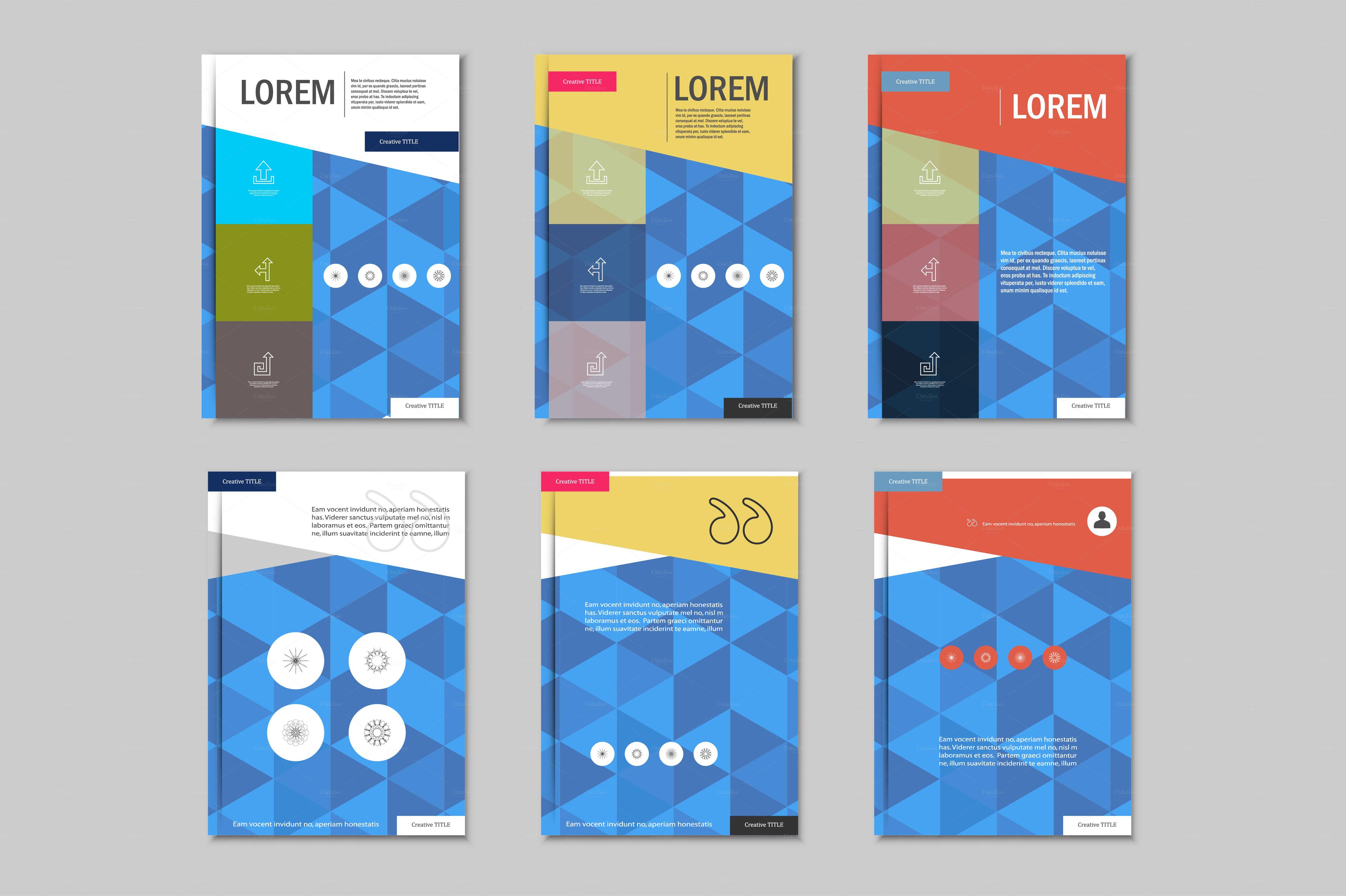 adobe illustrator brochure templates