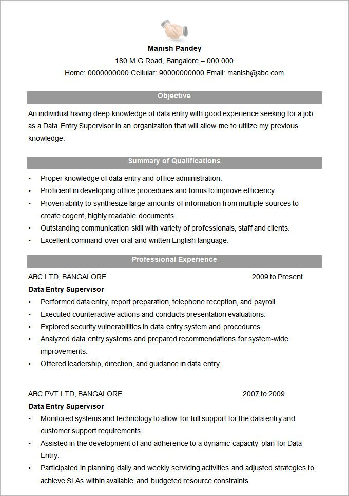 Microsoft Word Resume Template 99 Free Samples Examples ...