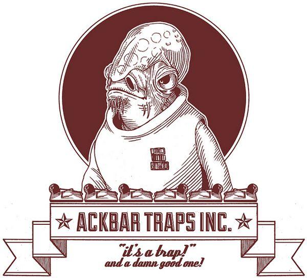 Star Wars Labels by danilo agutoli, via Behance