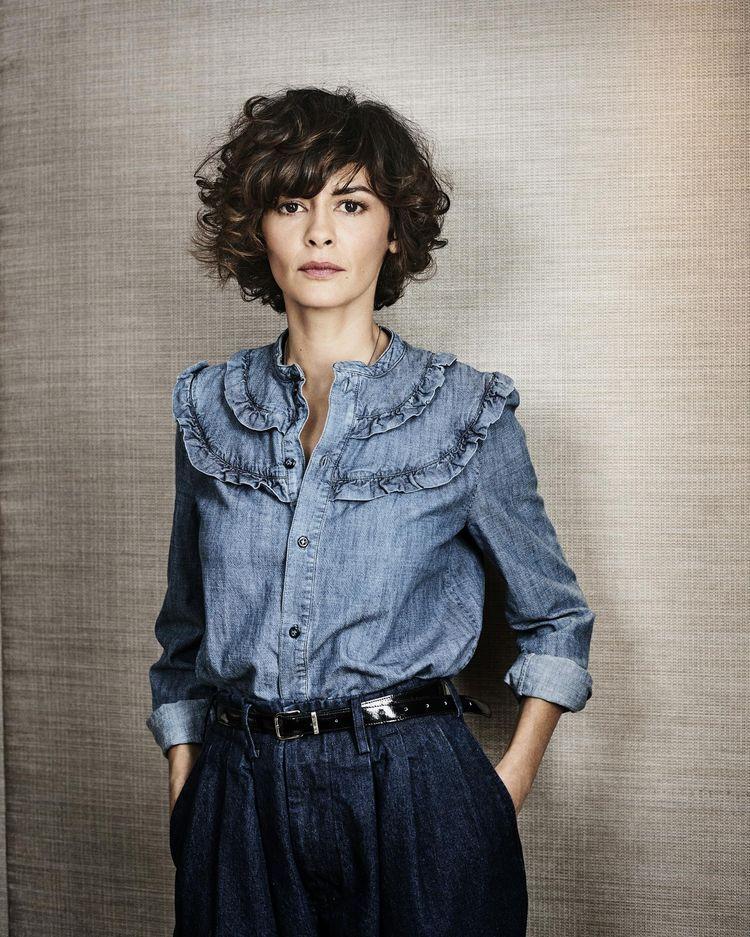 Audrey Tautou, tôt ou tard coiffures Curly hair styles