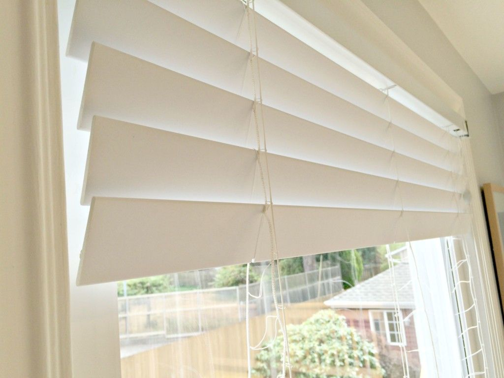 Tips For Painting Blinds Like A Pro With Images Diy Blinds Painting Blinds Living Room Blinds