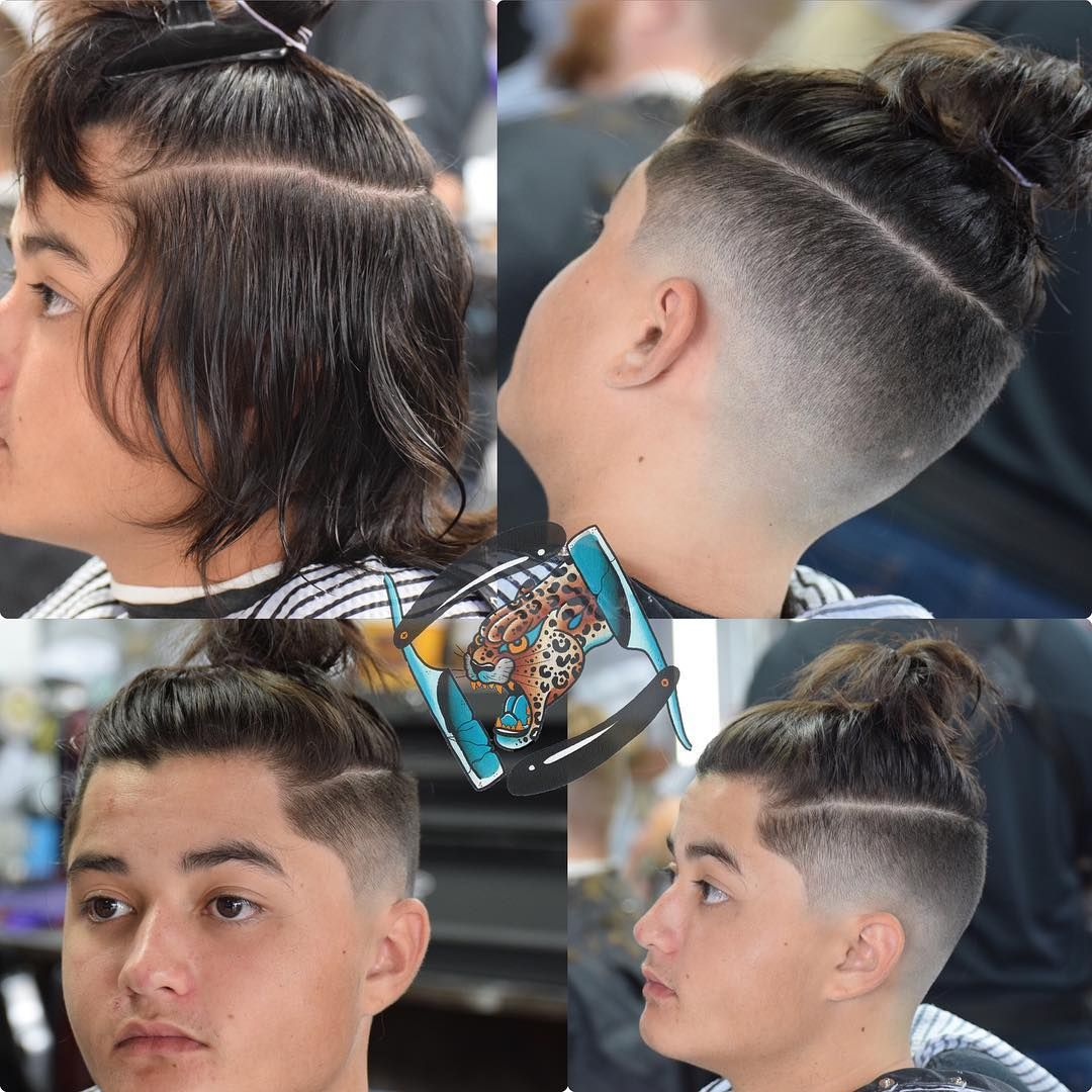 Mens haircuts widows peak talk about transformation   canut wait to get the