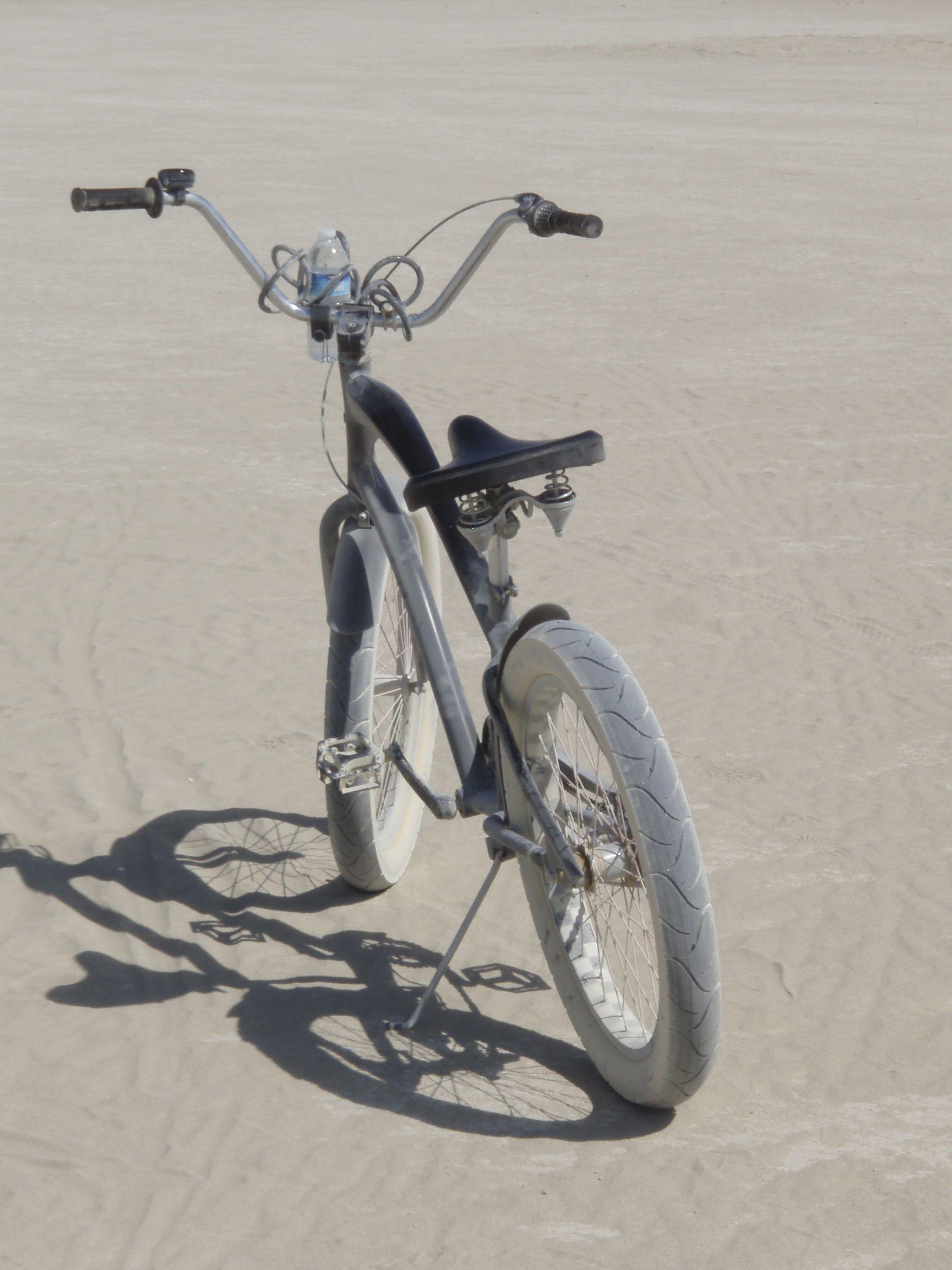 2012 Burning Man Dusty Bike Bike, Man, Burning man