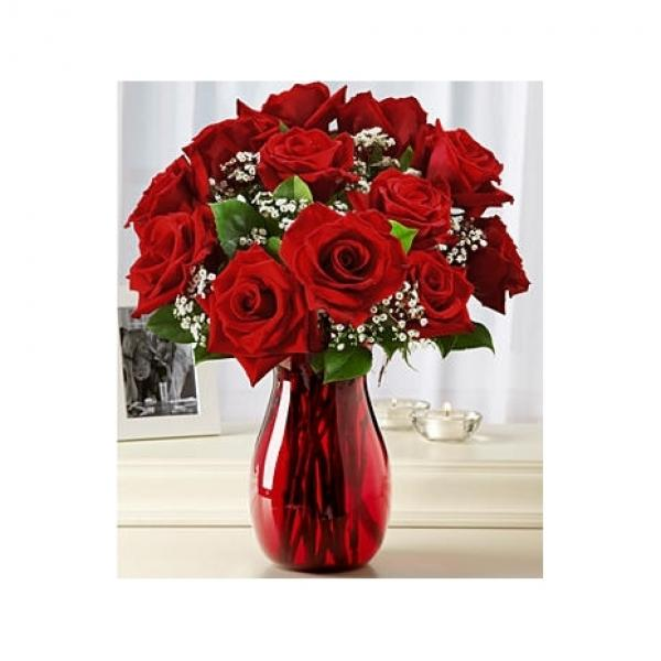 12 Red Roses48 Anniversary flowers, Birthday flower