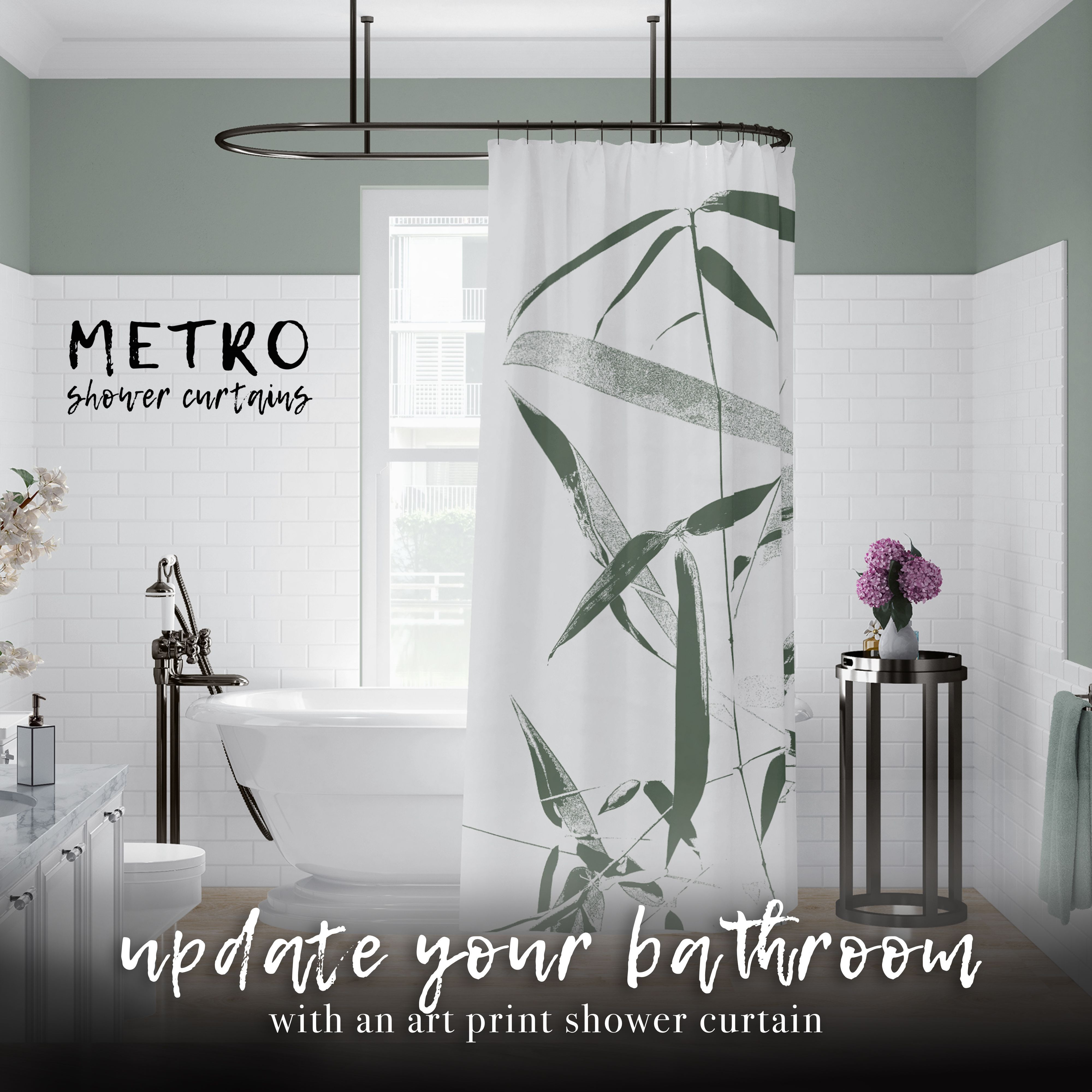 Need A Quick But Dramatic Update For Your Bathroom An Art Print