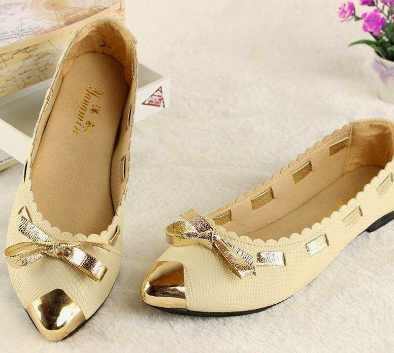 Flat Shoes 2015 Stylish Flat Pumps For Teenage Girls Wfwomen