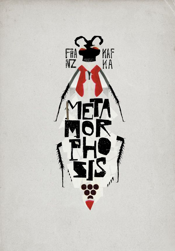 Metamorphosis book cover - Incrível()  Melhor metáfora que já vi!