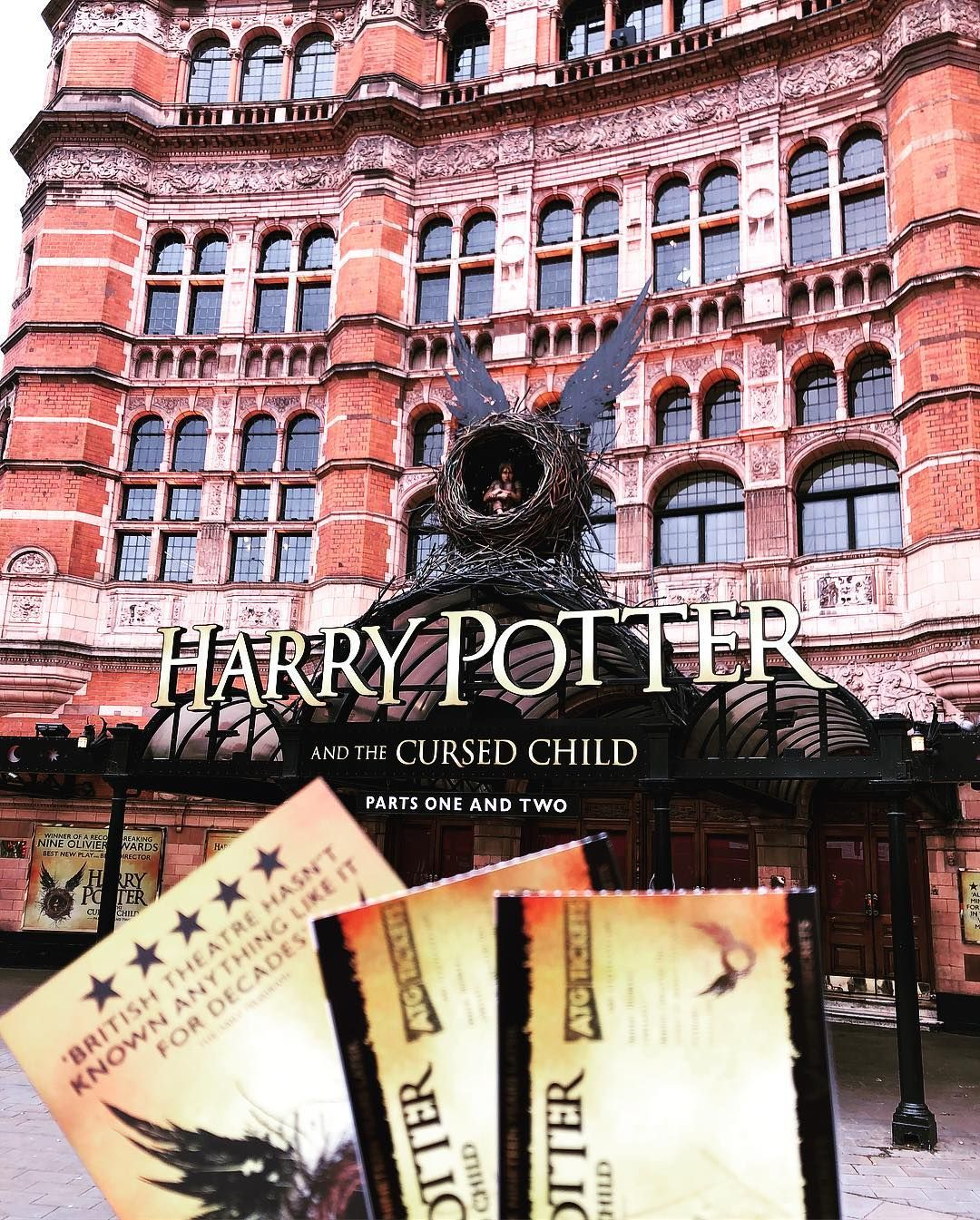 My Travels Harry Potter And The Cursed Child London United Kingdom Mytravels Imieiviaggi Har