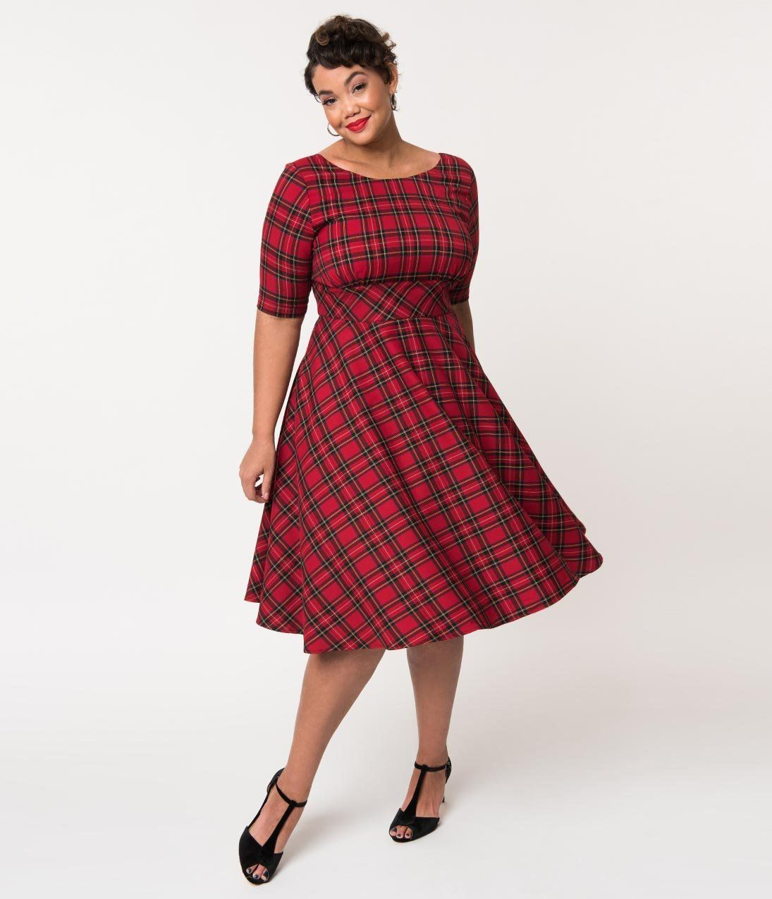 50515b2603b 1950s Plus Size Dresses