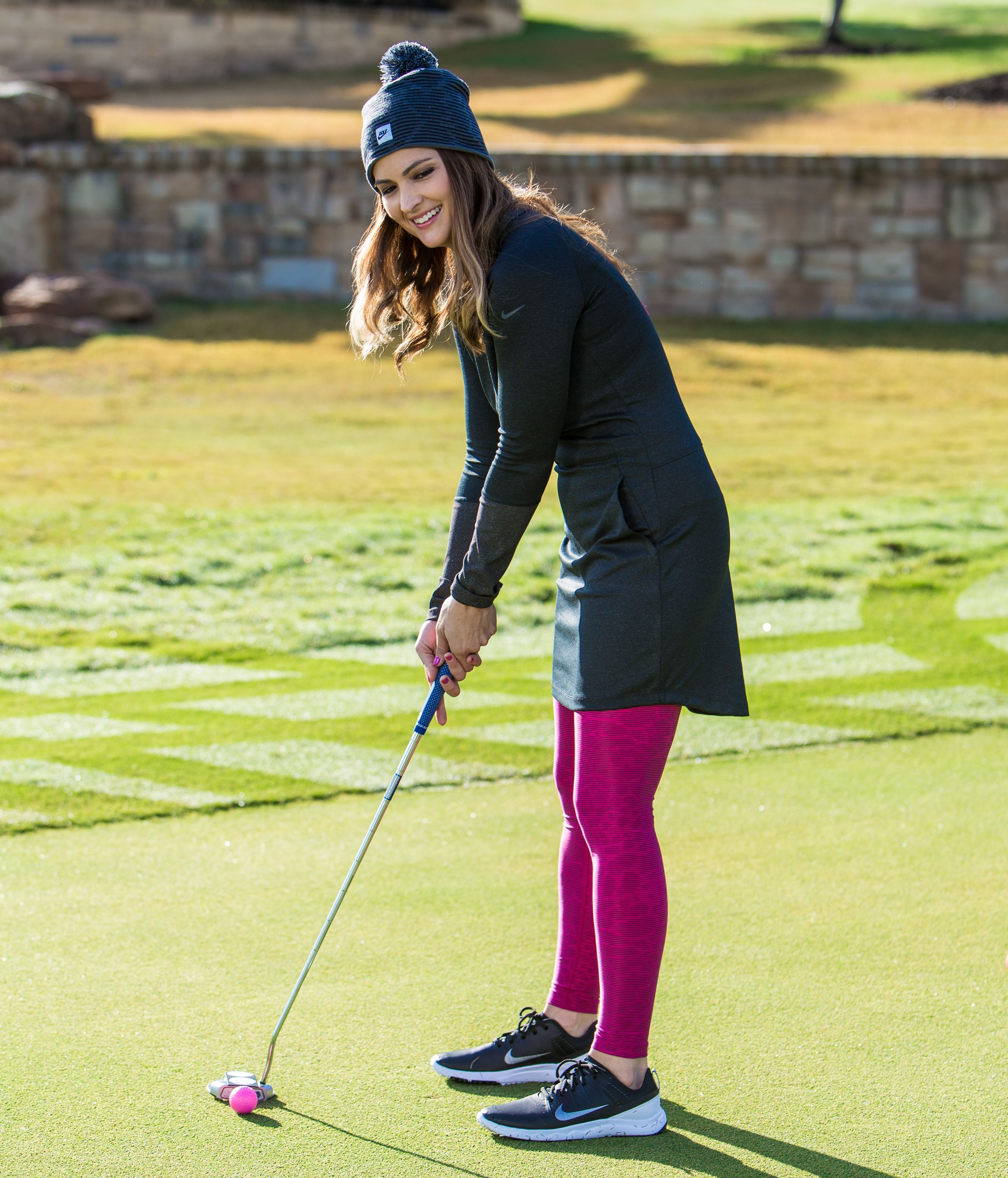 new styles 29a1f 739bc Cute womens golf apparel! Nike Ponte Golf Dress for Fall and Winter golf