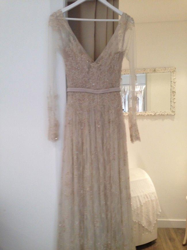 Paolo Sebastian Psaw1309 Used Wedding Dress Save 50 Dresses Second Hand Wedding Dresses Used Wedding Dresses