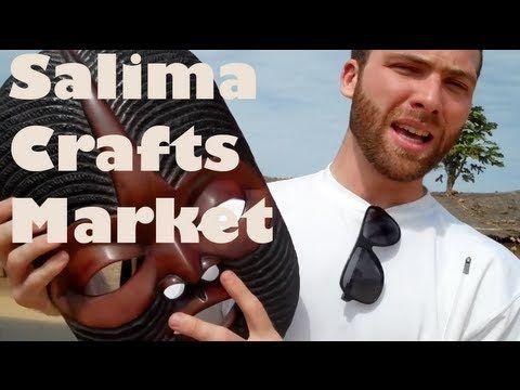 VIDEO: Touring Malawi's Senga Bay: Crafts Markets and the Safari Beach Lodge