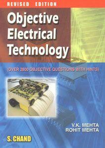 Objective Electrical Technology By V K Mehta Electrical Engineering Books Electrical Engineering Electricity