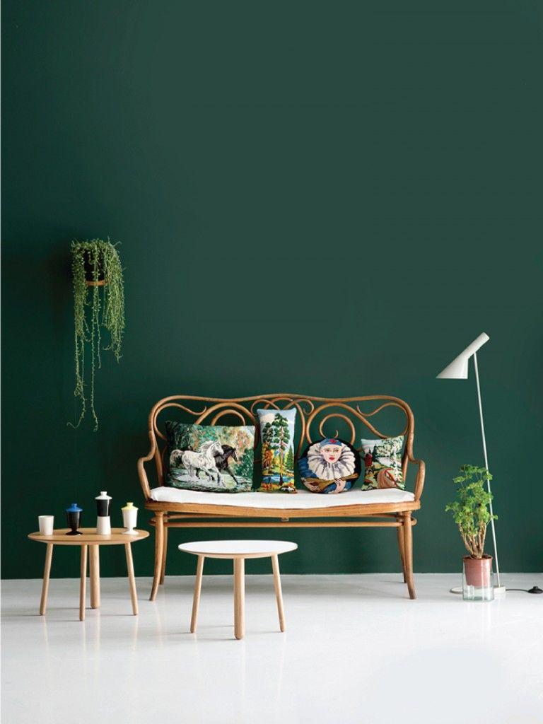 Design Del Colore Architetturaxtutti Grüne Dekoration Wandfarbe Grün Grüne Wohnzimmer