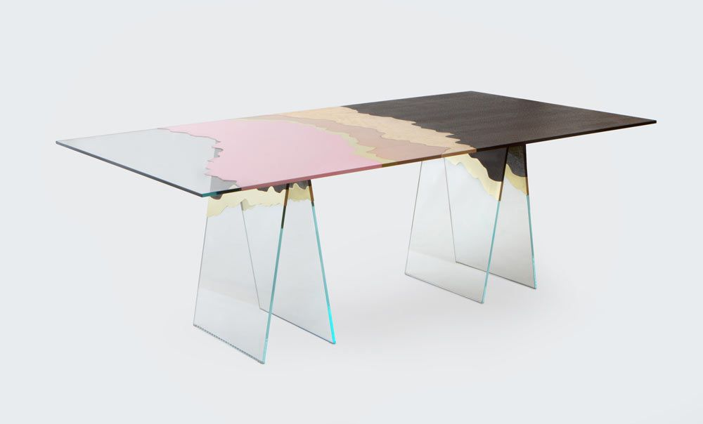 Experimental Art Furniture Inspired By The City Of Milan Design Milk Furniture Design Table Furniture Design Modern Furniture Design