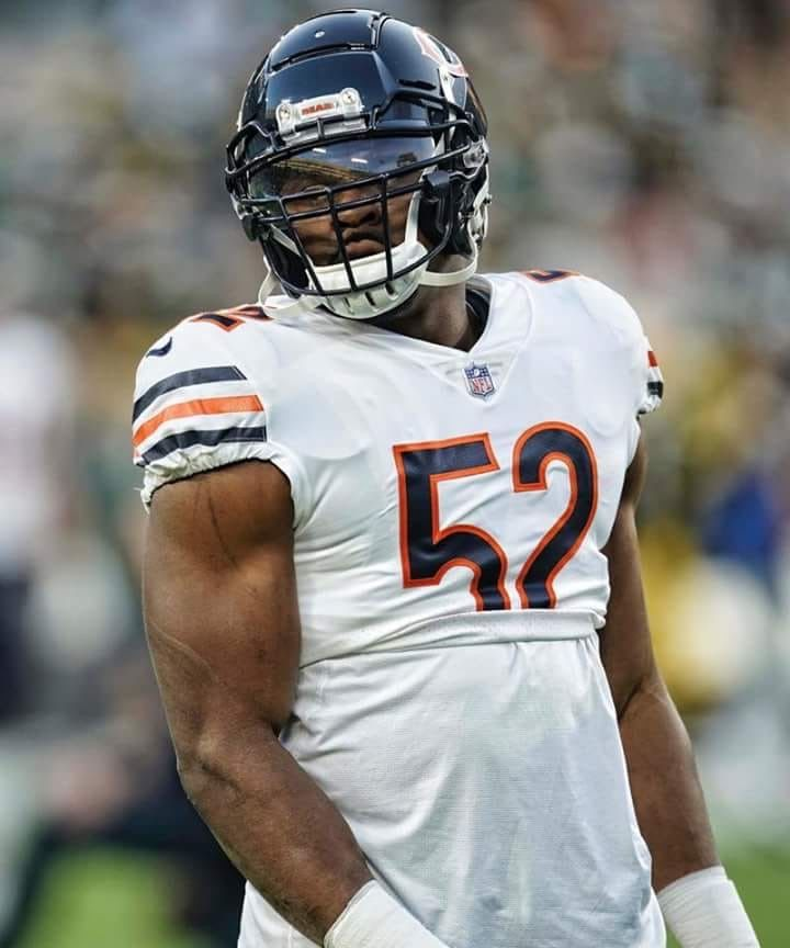 Khalil Mack Chicago Bears Super Bowl Chicago Bears Chicago Bears Football